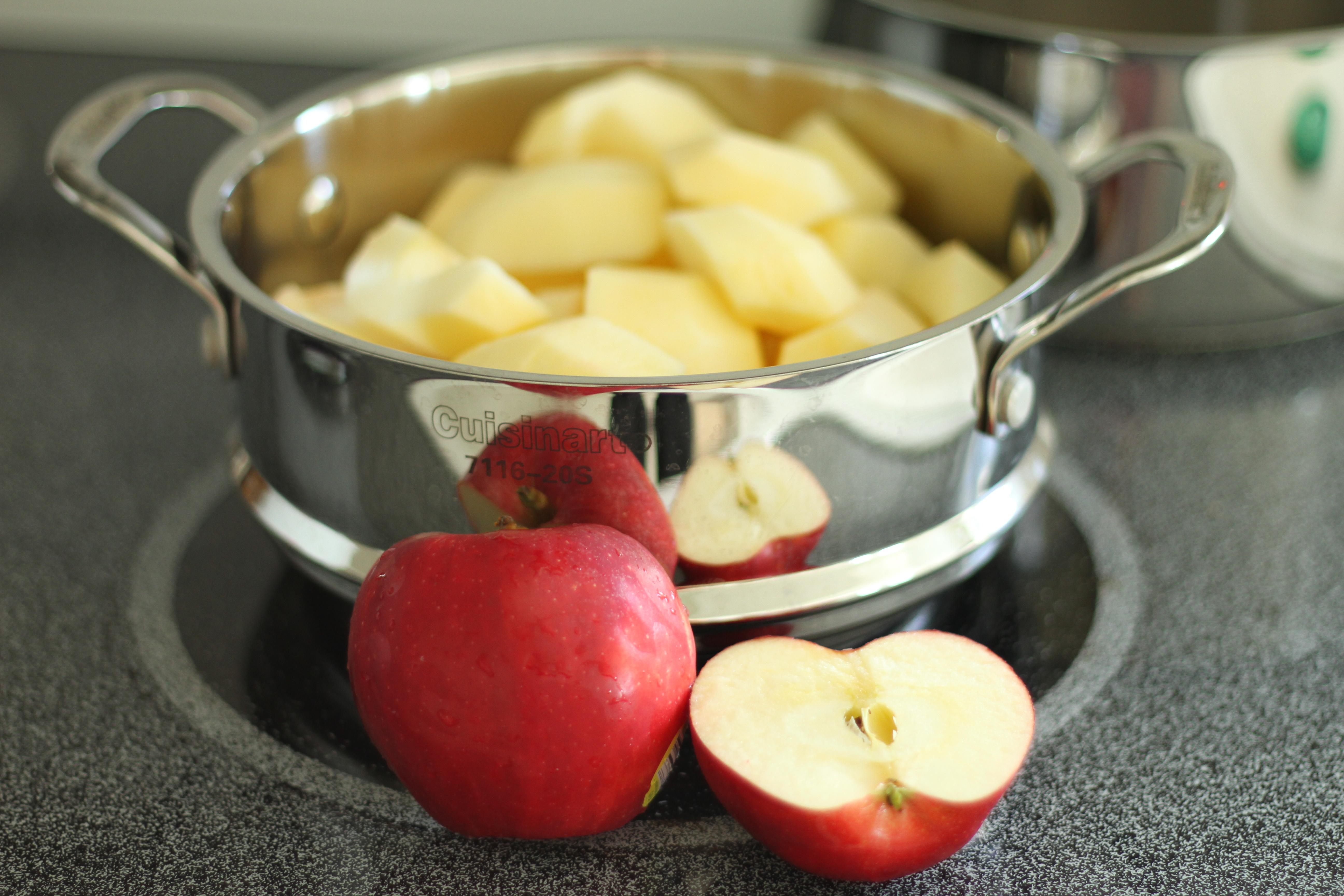 Пюре из яблок для ребенка рецепт